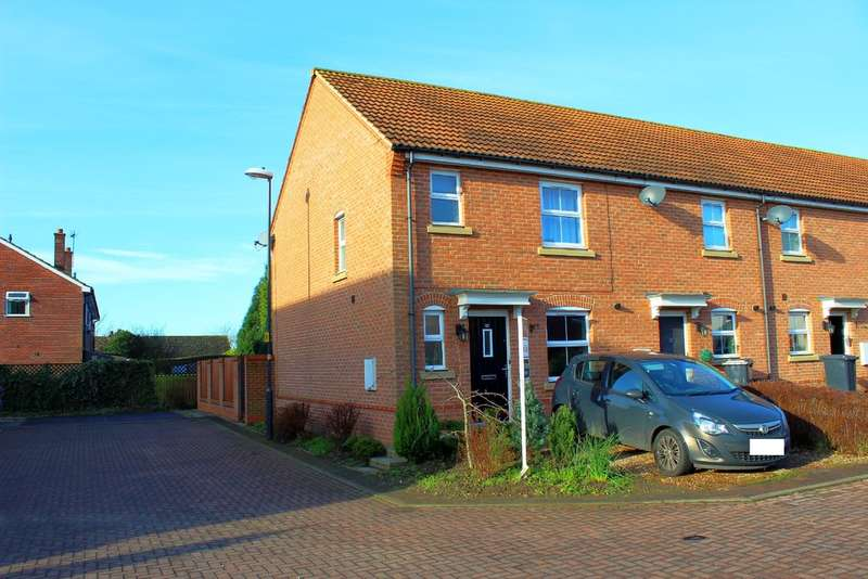 3 Bedrooms End Of Terrace House for sale in St. Marys Walk, Hambleton, Selby