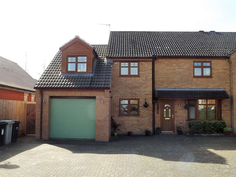 4 Bedrooms Semi Detached House for sale in St. Leonards Close, Woodhall Spa, LN10 6SX