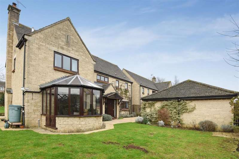 4 Bedrooms Detached House for sale in Crawley Road, Witney