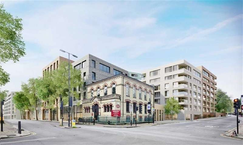 2 Bedrooms Property for sale in London Square, Islington, London