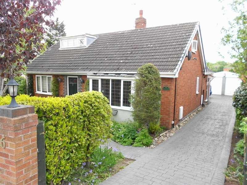 4 Bedrooms Detached Bungalow for sale in Gresty Green Road, Shavington, Crewe