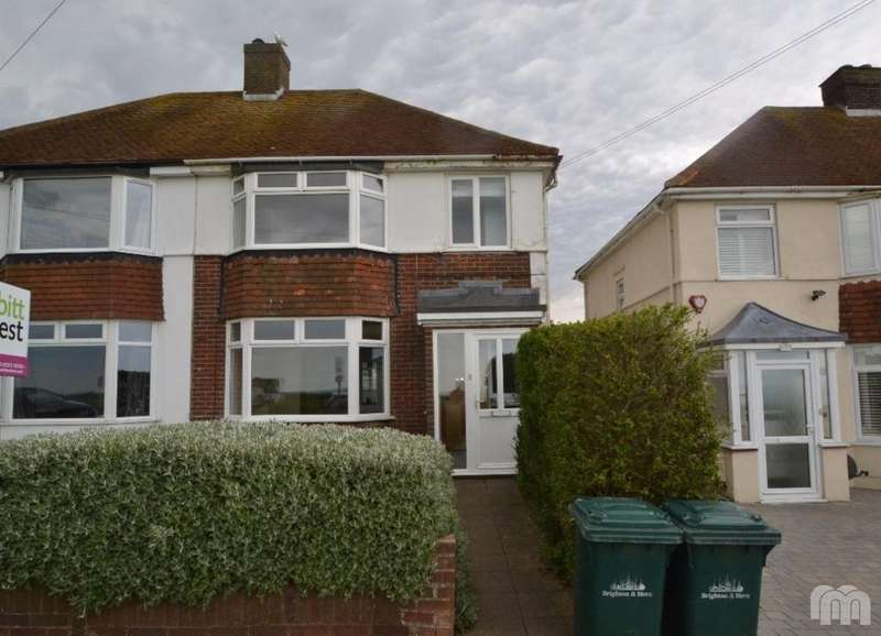 3 Bedrooms Semi Detached House for rent in Hillview Road Brighton East Sussex BN2
