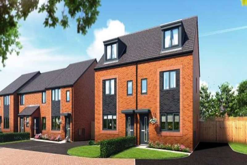 3 Bedrooms Semi Detached House for sale in Riverbank View, The Rathmell Whit Lane, Salford, M6