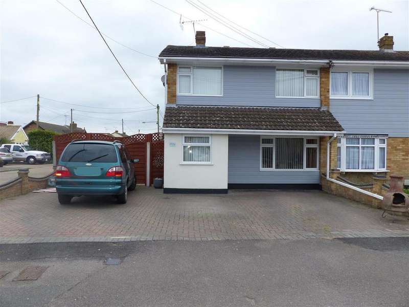 3 Bedrooms Semi Detached House for sale in Point Road, Canvey Island