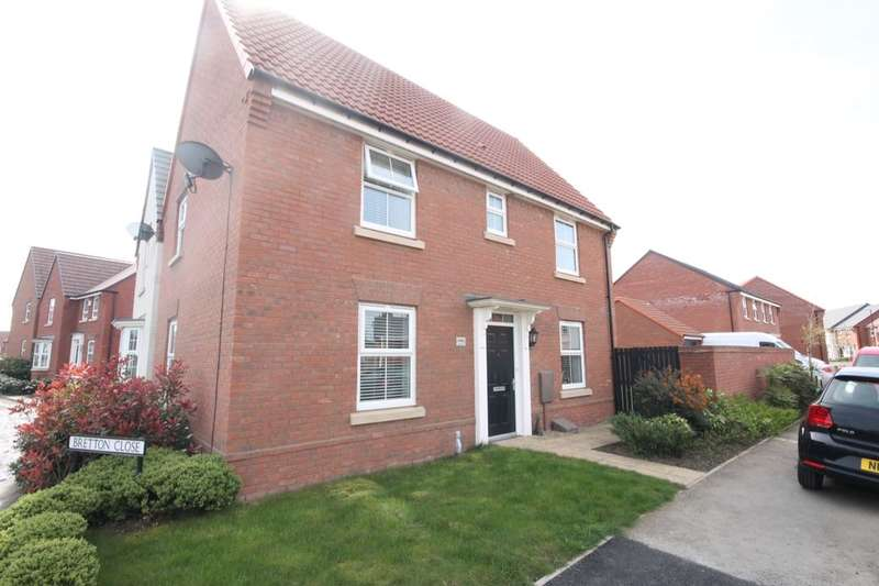 3 Bedrooms Detached House for sale in Rushton Way, Teal Farm Village, Washington, NE38
