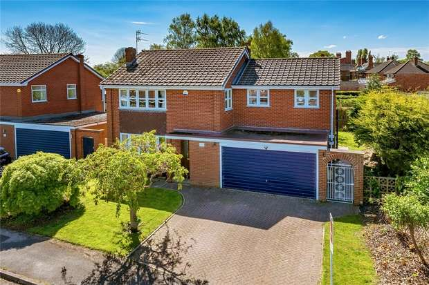 5 Bedrooms Detached House for sale in 1 Woodridge Close, Edgmond, NEWPORT, Shropshire