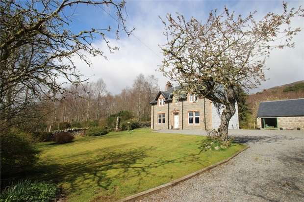 5 Bedrooms Detached House for sale in Cul-Na-Carn Manse, Dundreggan, Glenmoriston, Highland