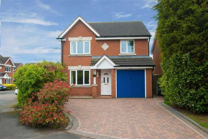 3 Bedrooms Detached House for sale in Worthington Road, Fradley, Staffordshire