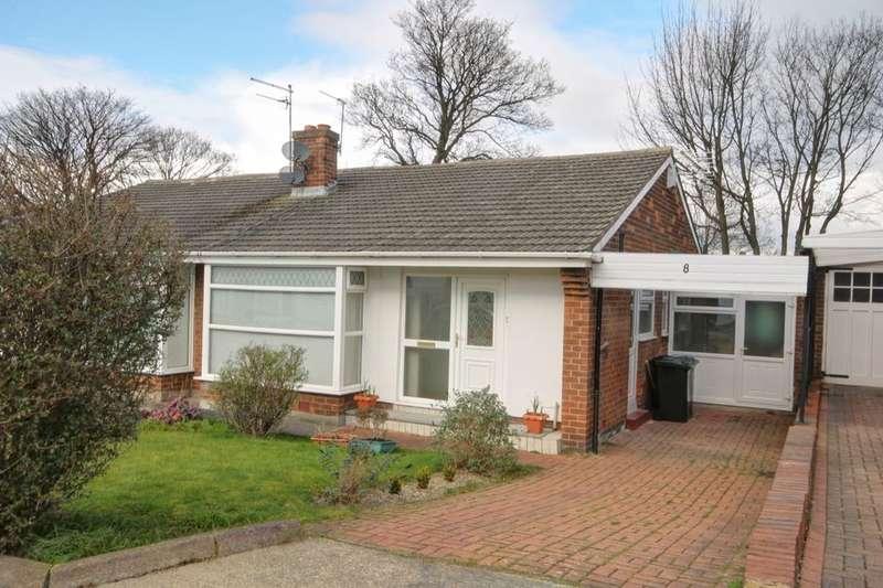 2 Bedrooms Semi Detached Bungalow for sale in Priory Way, Whorlton Grange, Newcastle Upon Tyne, NE5