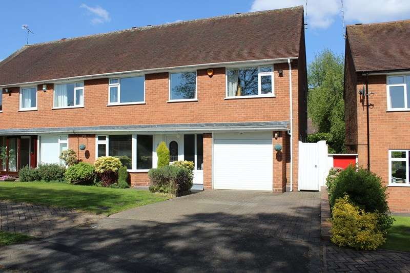 4 Bedrooms Semi Detached House for sale in Dowles Close, Selly Oak, Bournville Village Trust