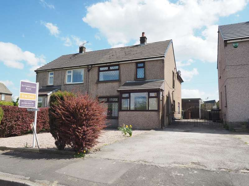 3 Bedrooms Semi Detached House for sale in Hallsteads, Dove Holes, High Peak, Derbyshire, SK17 8BT