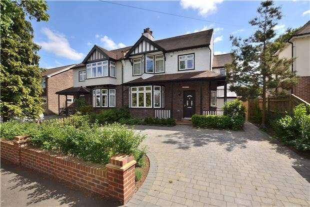 4 Bedrooms Semi Detached House for sale in Link Lane, WALLINGTON, Surrey, SM6 9EB