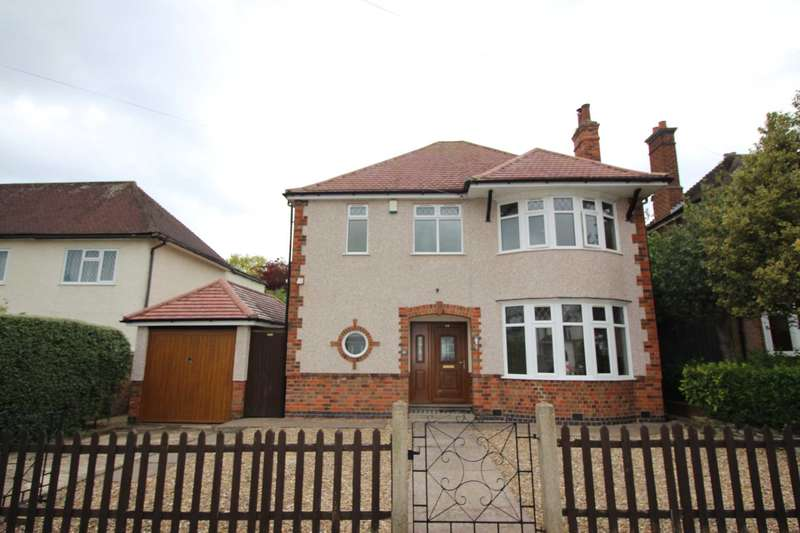 3 Bedrooms Detached House for sale in Abbots Road South, off Scraptoft Lane, Humberstone