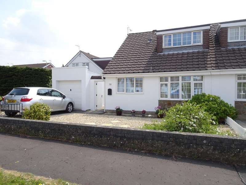 3 Bedrooms Semi Detached Bungalow for sale in AUSTIN AVENUE, NEWTON, PORTHCAWL, CF36 5RS