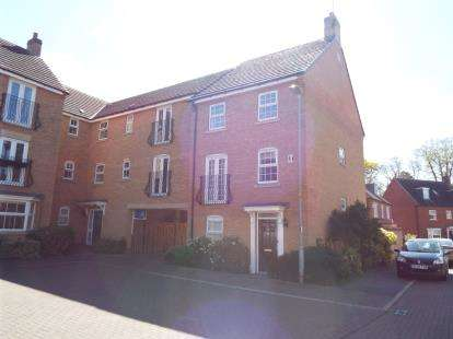 4 Bedrooms End Of Terrace House for sale in Lady Jane Walk, Scraptoft, Leicester, Leicestershire