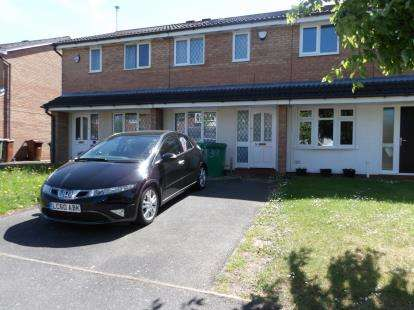 3 Bedrooms Terraced House for sale in Heron Drive, Lenton, Nottingham, Nottinghamshire