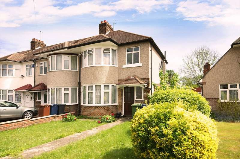 3 Bedrooms End Of Terrace House for sale in Cannon Lane, Pinner