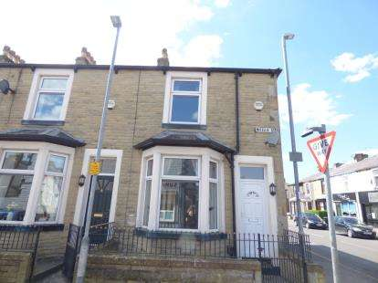 2 Bedrooms End Of Terrace House for sale in Mitella Street, Burnley, Lancashire