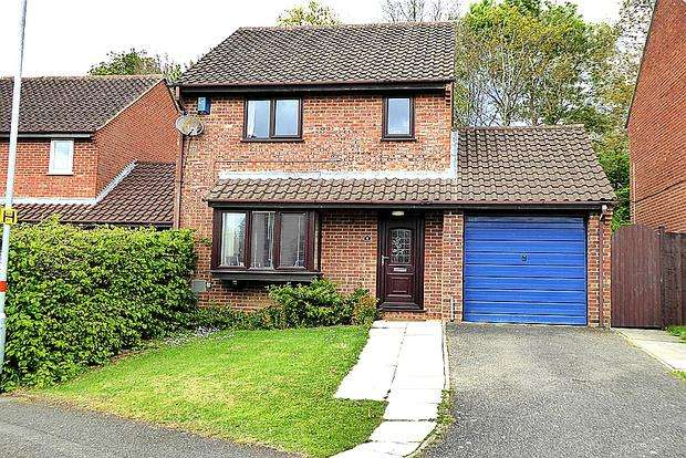 3 Bedrooms Detached House for sale in Penn Gardens, East Hunsbury, Northampton, NN4