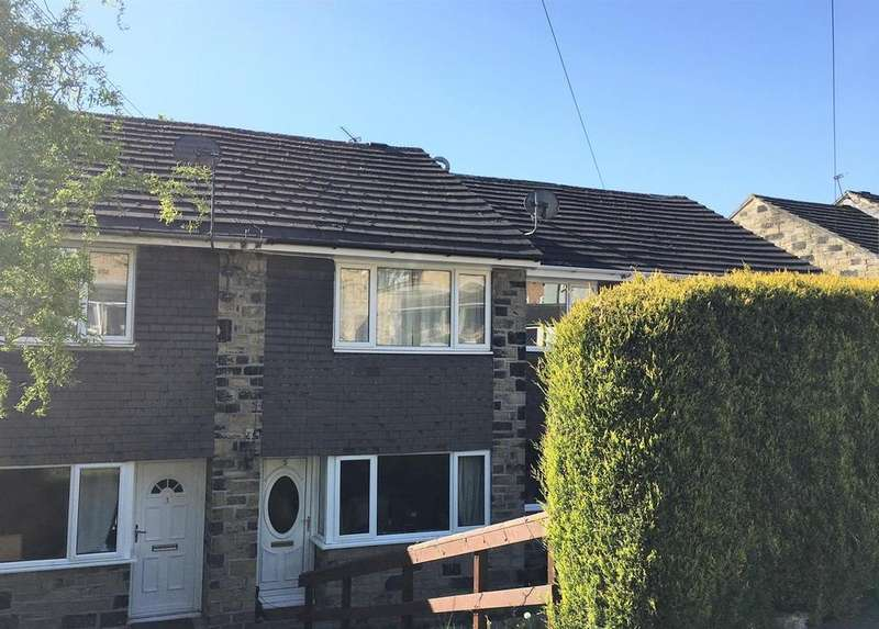 2 Bedrooms Terraced House for sale in Woodlands Close, Denby Dale, Huddersfield, HD8 8RH