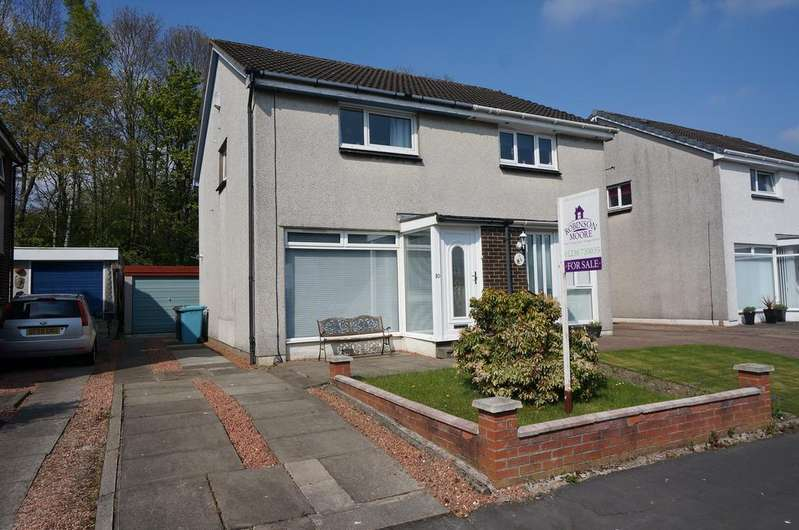 2 Bedrooms Semi Detached House for sale in Myvot Road, Condorrat, Cumbernauld G67