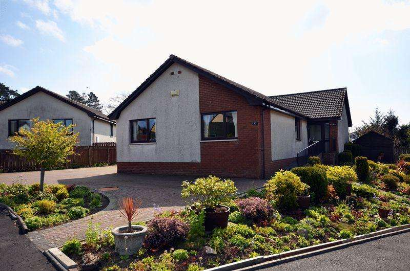 4 Bedrooms Detached Bungalow for sale in 33 Hoyle Crescent, Cumnock KA18 1RX