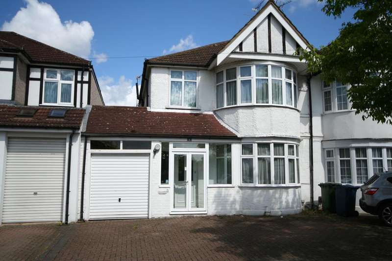 3 Bedrooms Semi Detached House for sale in Hunters Grove, Kenton HA3