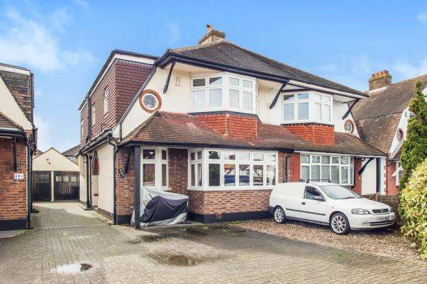 4 Bedrooms Semi Detached House for sale in Ewell, Surrey, England