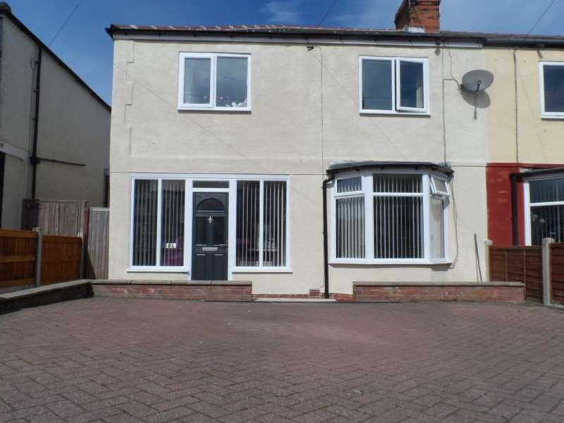3 Bedrooms End Of Terrace House for sale in Cavendish Road, Blackpool, FY2 9NJ