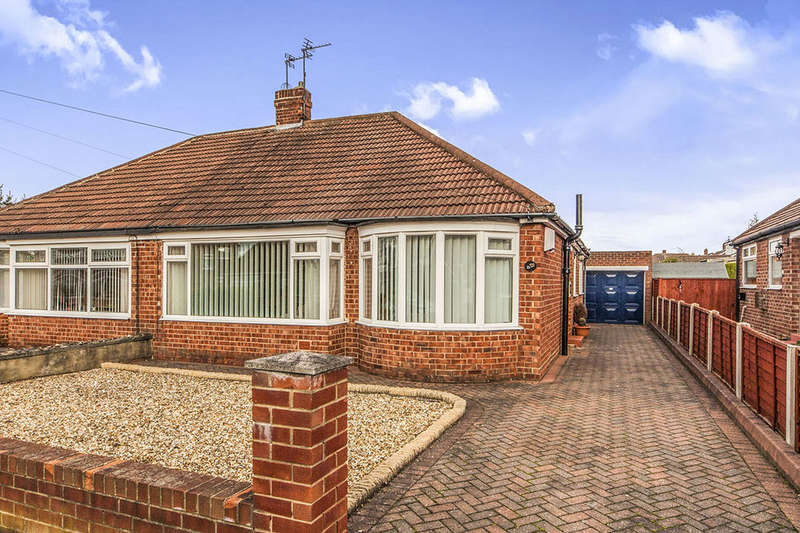 2 Bedrooms Semi Detached Bungalow for sale in Virginia Gardens, Middlesbrough, TS5