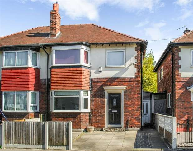 3 Bedrooms Semi Detached House for sale in Siddington Avenue, Stockport, Cheshire