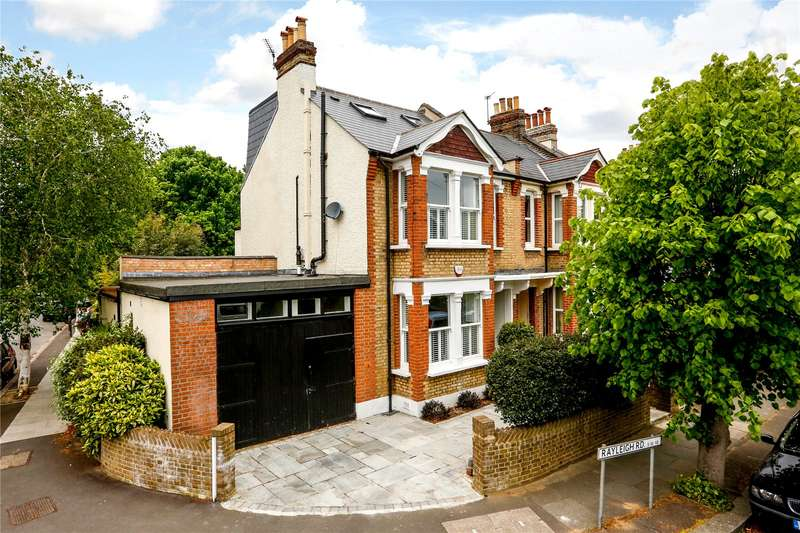 5 Bedrooms Semi Detached House for sale in Rayleigh Road, London, SW19