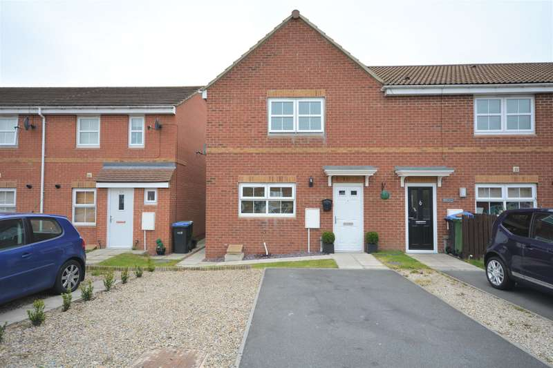 3 Bedrooms End Of Terrace House for sale in Central Grange , St Helen Auckland, Bishop Auckland, DL14 9AY