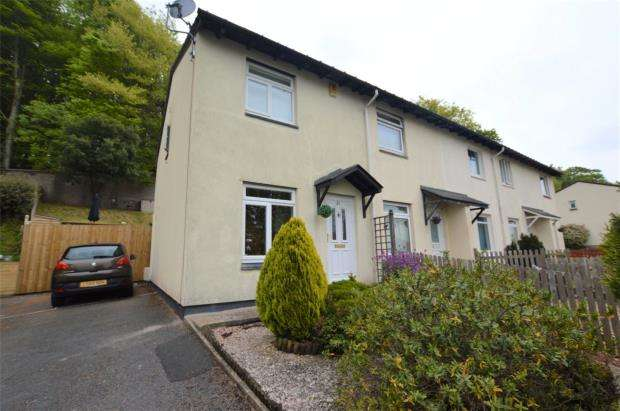 2 Bedrooms End Of Terrace House for sale in Wordsworth Close, Chelston, Torquay, Devon