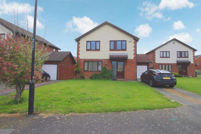 4 Bedrooms Detached House for sale in Fairfield, Newcastle-upon-Tyne