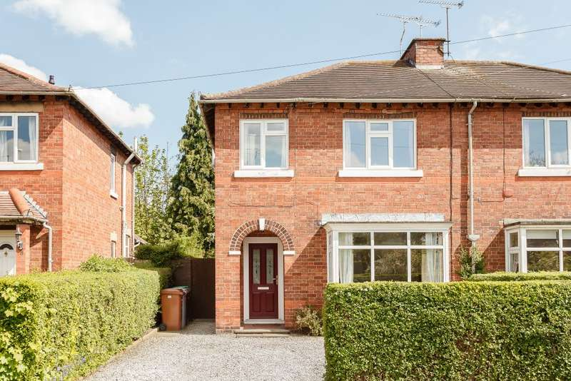 3 Bedrooms Semi Detached House for sale in White Avenue, Crewe, Cheshire CW2 7SH
