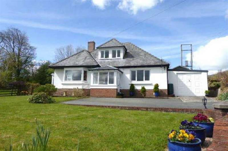 4 Bedrooms Bungalow for sale in Blaencwrt, Nr. Lampeter, Ceredigion