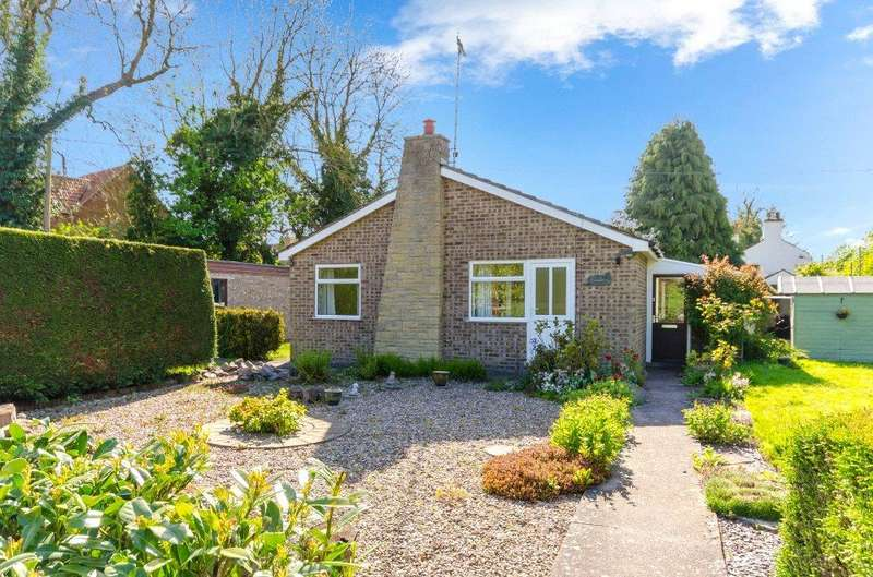 3 Bedrooms Detached Bungalow for sale in Kirkby Underwood Road, Aslackby, Sleaford, NG34