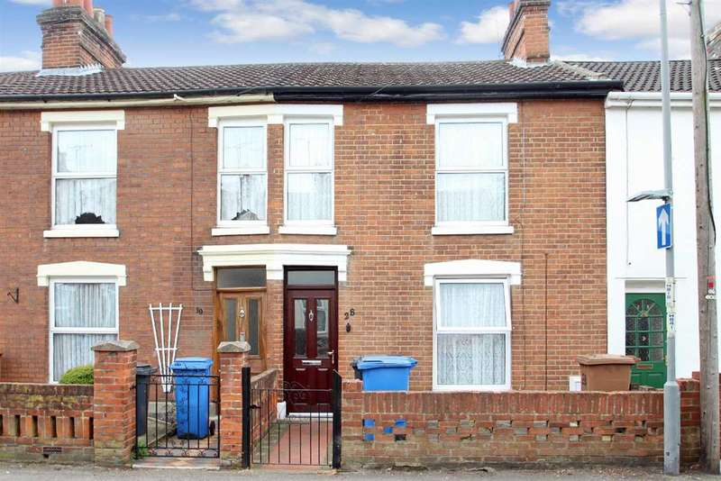2 Bedrooms Terraced House for sale in Cobbold Street, Ipswich
