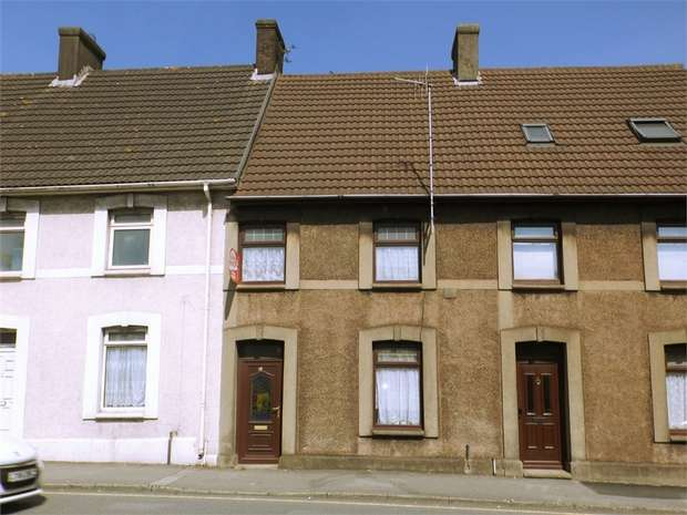 2 Bedrooms Terraced House for sale in Commercial Road, Taibach, Port Talbot, West Glamorgan