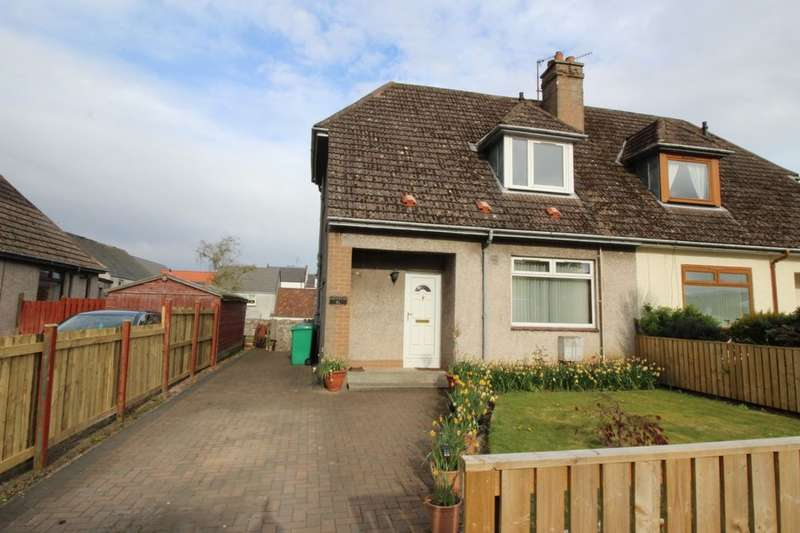 3 Bedrooms Semi Detached House for sale in Macduff Place, Auchtermuchty, Cupar, KY14