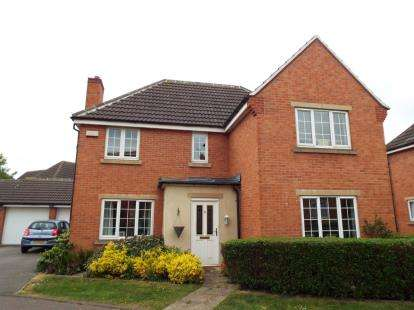 4 Bedrooms Detached House for sale in Thales Drive, Arnold, Nottingham