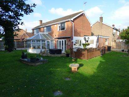 4 Bedrooms Detached House for sale in Rutland Avenue, Toton, Nottingham, Nottinghamshire