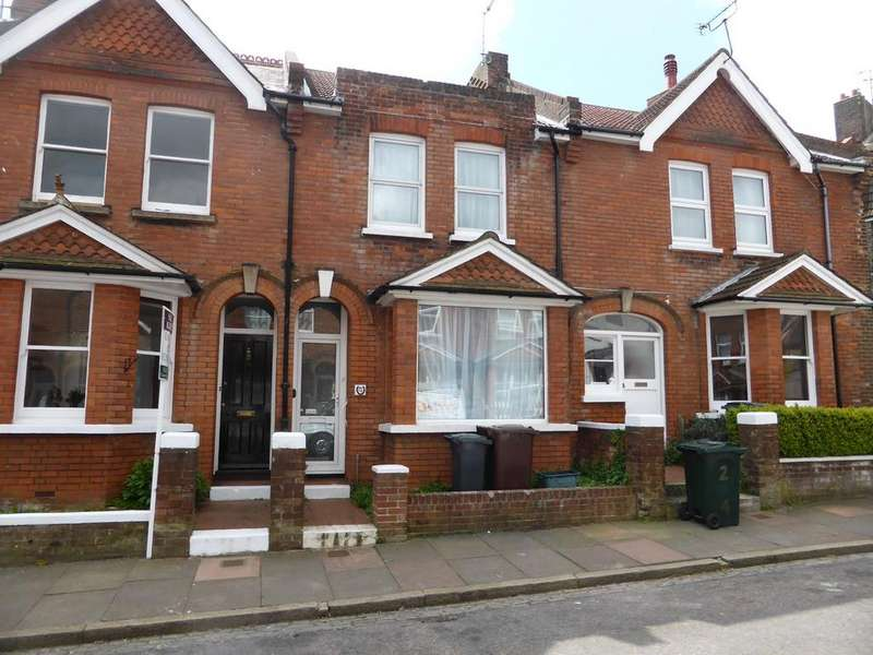2 Bedrooms Terraced House for sale in Greys Road, Old Town, Eastbourne, BN20