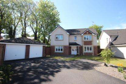 4 Bedrooms Detached House for sale in Lapsley Avenue, Paisley, Renfrewshire