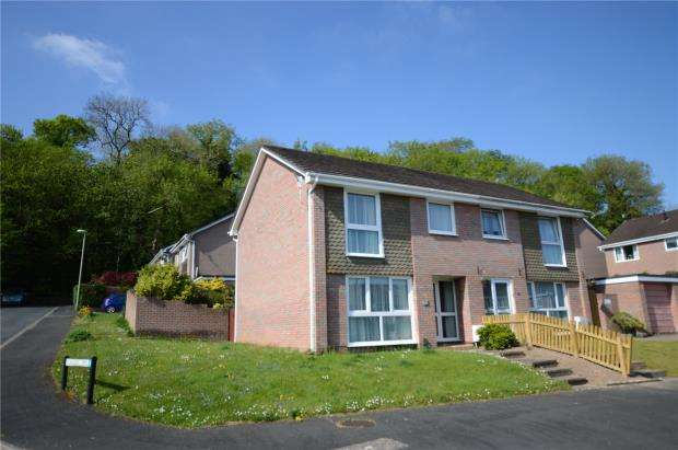 3 Bedrooms Semi Detached House for sale in Higher Budleigh Meadow, Newton Abbot, Devon