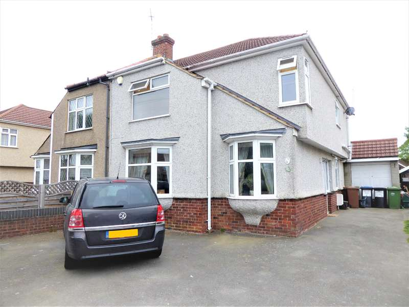 4 Bedrooms Semi Detached House for sale in Hyde Road, Bexleyheath, Kent, DA7 4NL