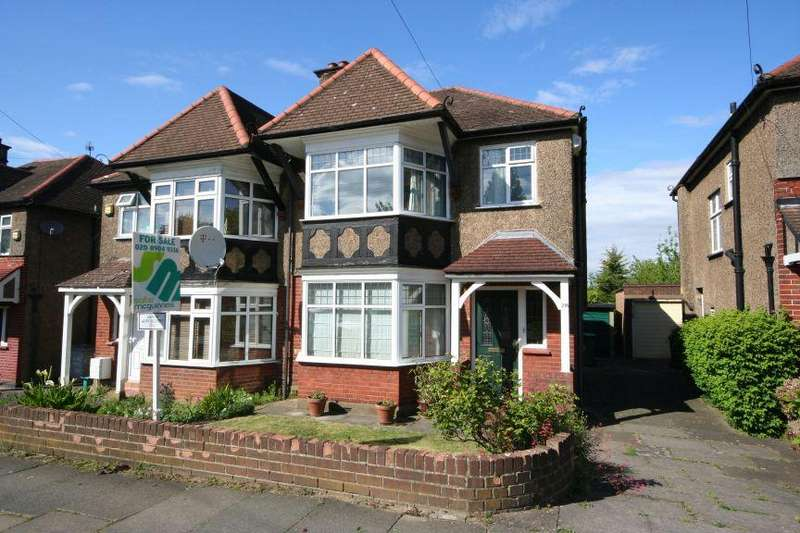 3 Bedrooms Semi Detached House for sale in Preston Road Area HA9