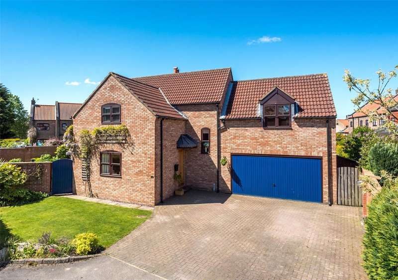 4 Bedrooms Detached House for sale in The Green, Wistow, Selby, North Yorkshire, YO8