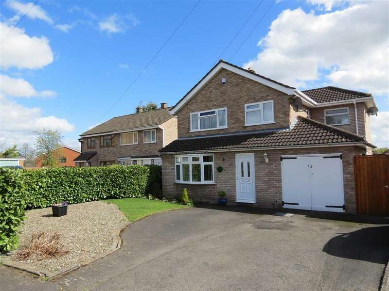 3 Bedrooms Detached House for sale in Bewdley Avenue, Telford Estate, Shrewsbury, Shropshire